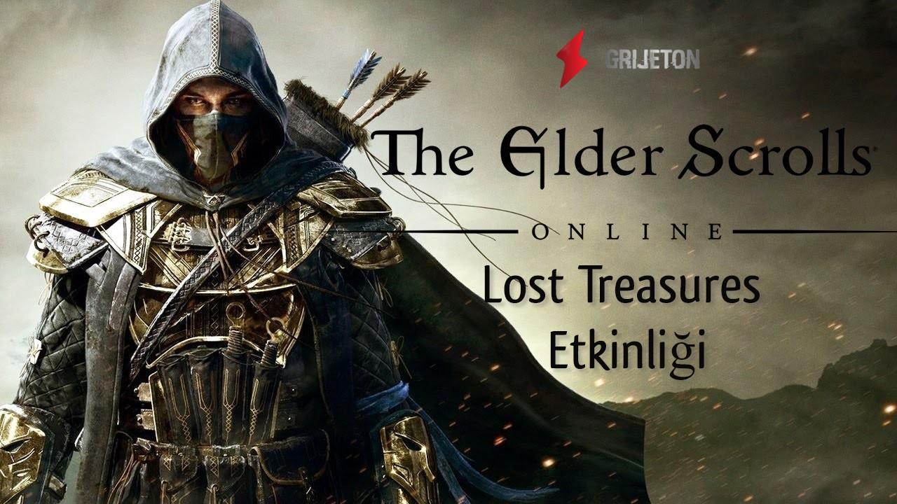 Elder Scrolls Online Lost Treasures Etkinliği