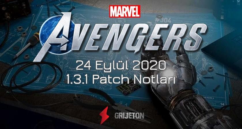 Marvel's Avengers Patch Notları