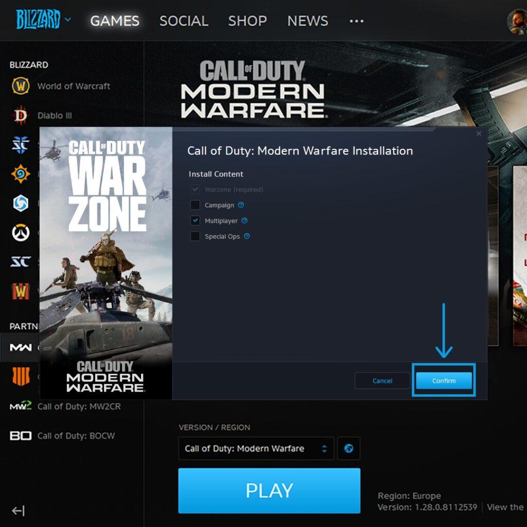 Call of Duty Modern Warfare Mod Silme