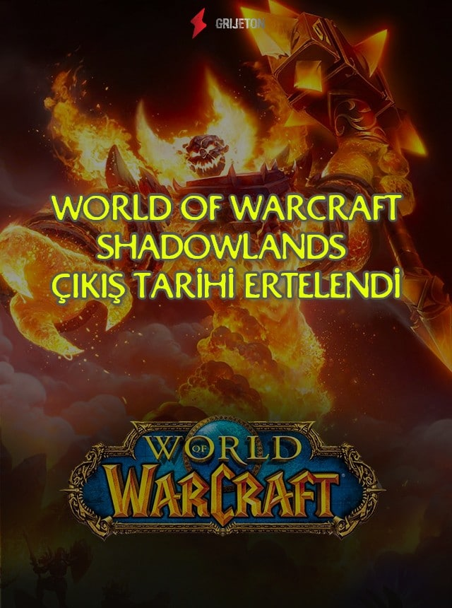 World of Warcraft Shadowlands Çıkış Tarihi