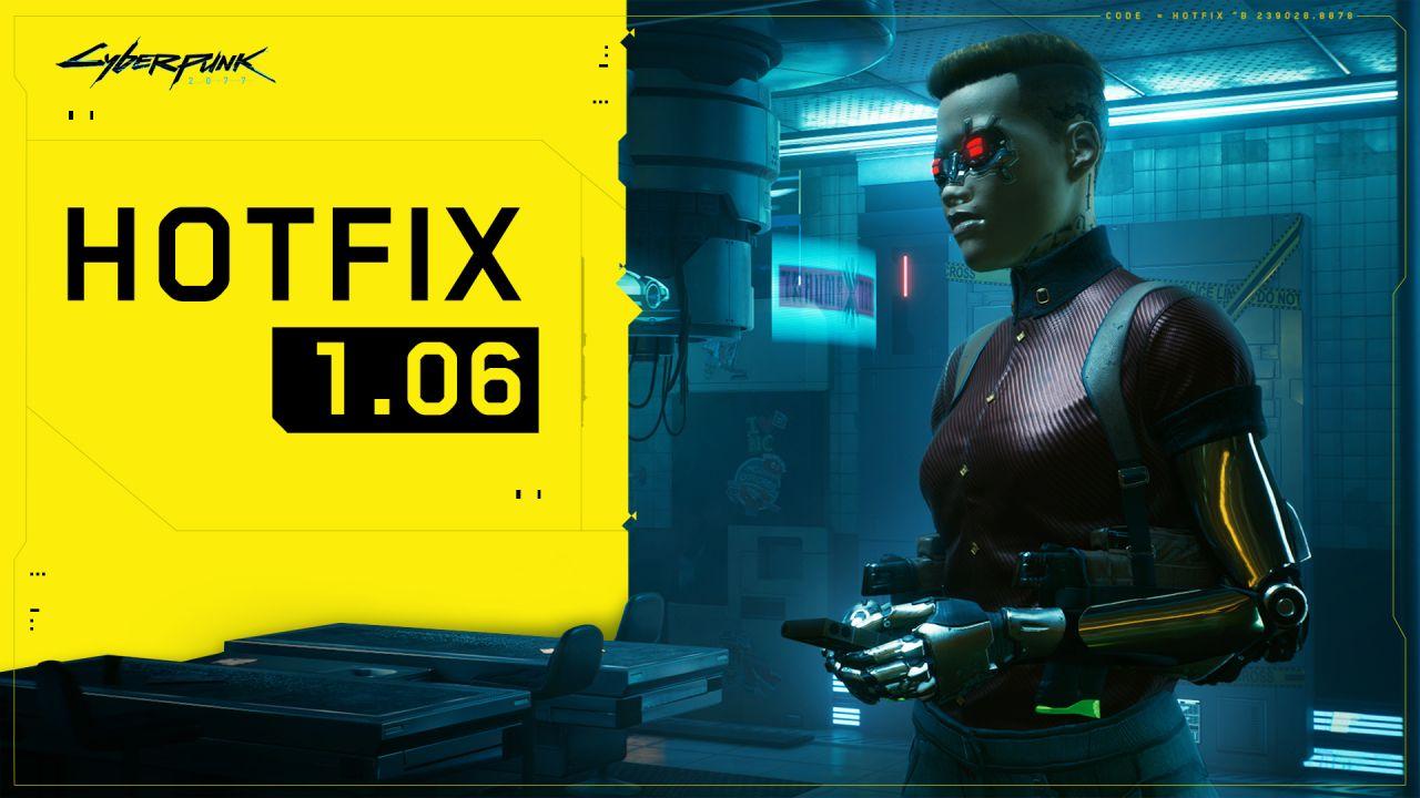 Cyberpunk 2077 HotFix 1.06 Türkçe