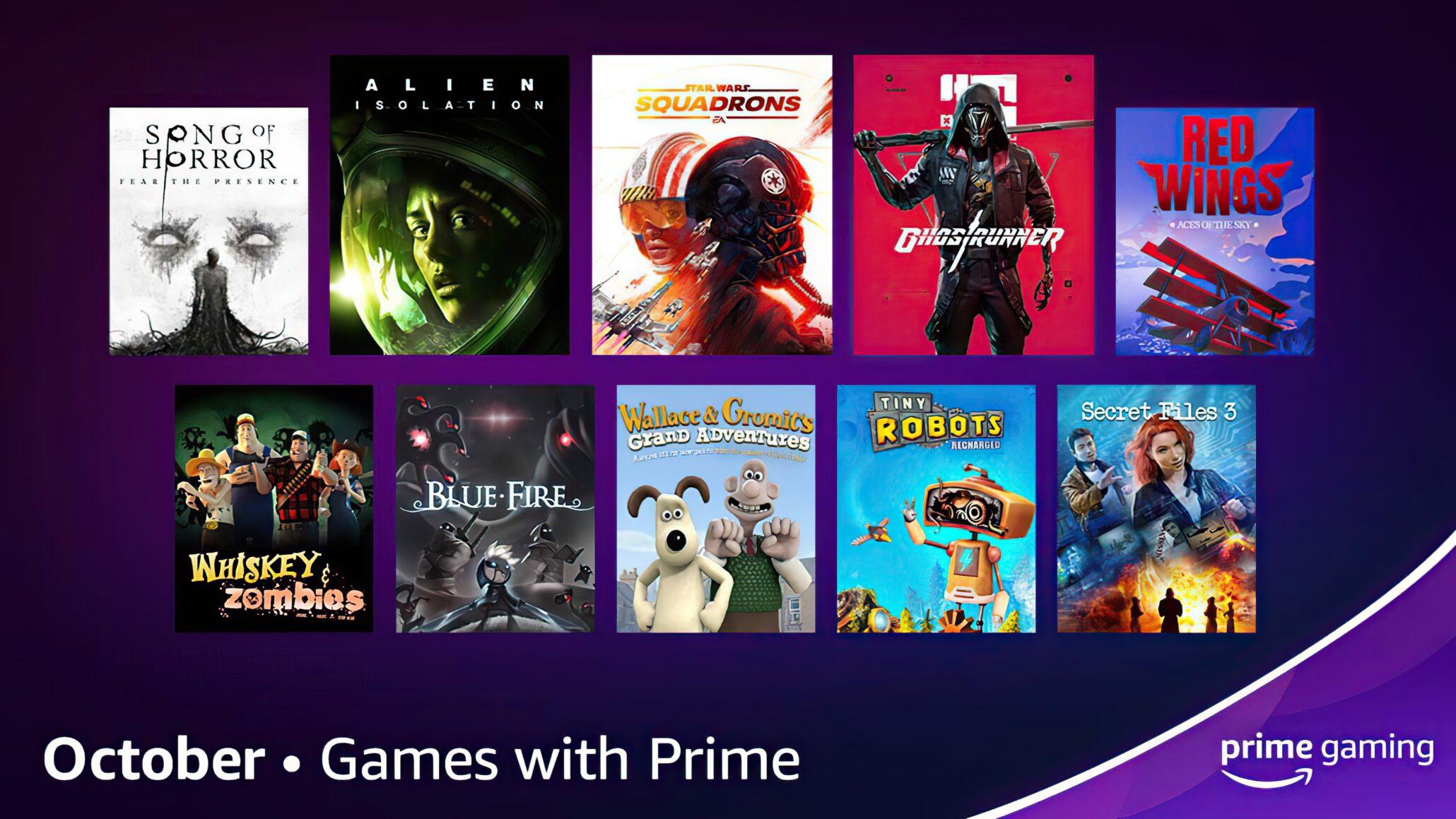 Amazon Prime Gaming Ücretsiz Oyunlar