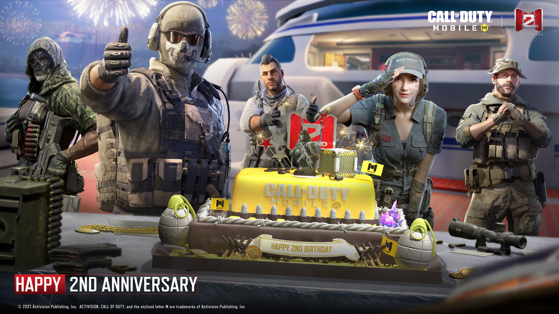 Call of Duty Mobile 2.Yıl Etkinlikleri